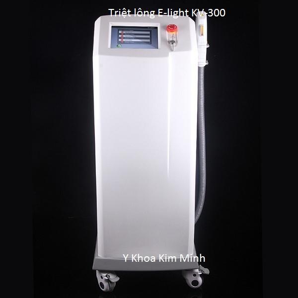Máy triệt lông vĩnh viễn E-light đa năng KV-300 bán Y Khoa Kim Minh