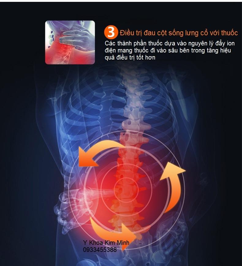 Máy bó thuốc điều trị xương cơ khớp, máy trung tần BA2008-II - Y Khoa Kim Minh 0933455388