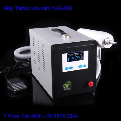 Máy xóa xăm laser YAG-450 Q-Swtich