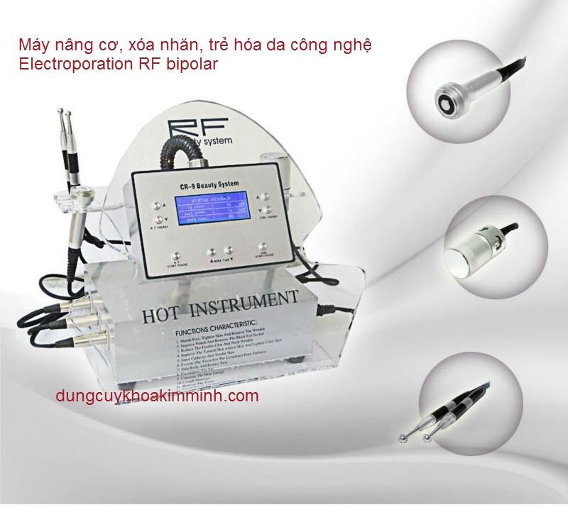 Máy chăm sóc da đời mới sử dụng công nghệ Electroporation