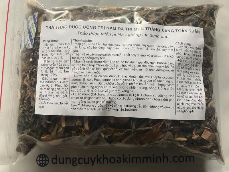 Mua tra thao duoc uong tri nam tri mun trang sang toan than o dau tai Tp Ho Chi Minh - Y khoa Kim Minh