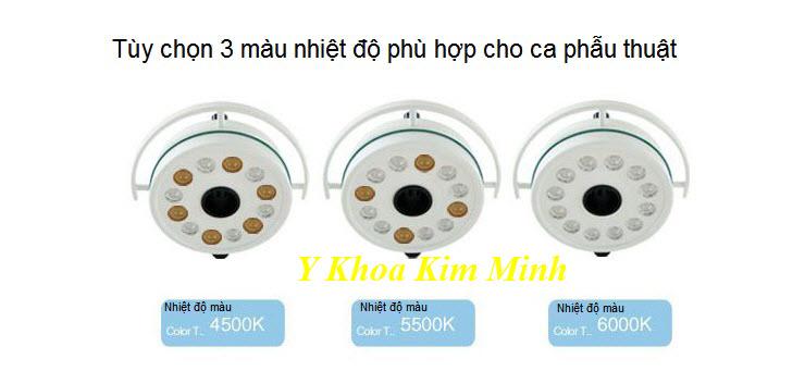 Nhiet do mau la gi cua den mo y te KD-2012D - Y khoa Kim Minh