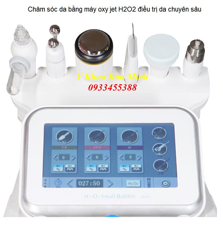 May cham soc da oxy jet H2O2 Kim Minh - 0933455388