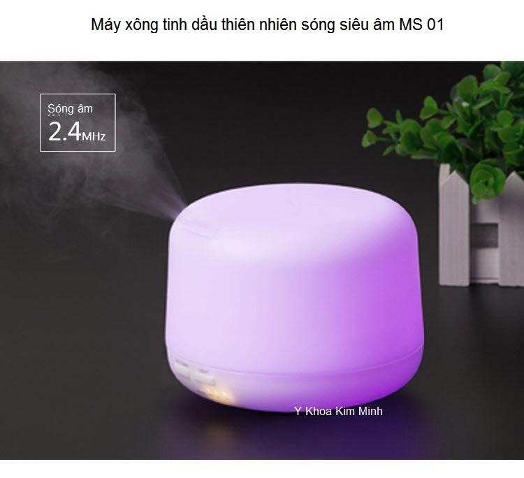 May xong tinh dau Aromatherapy song sieu am ultrasonic Y Khoa Kim MInh