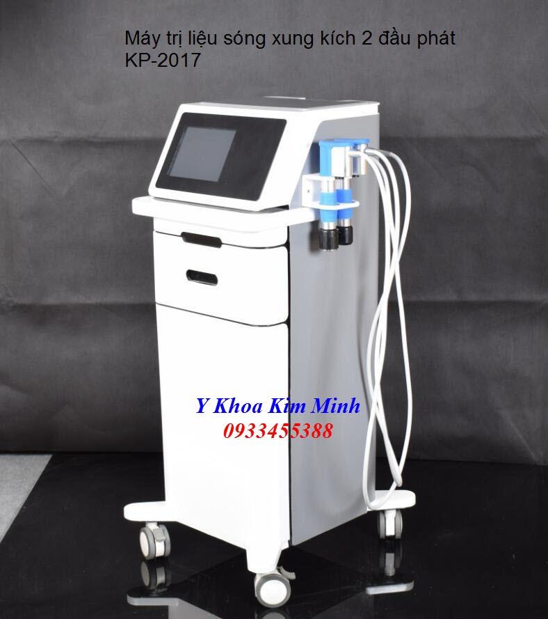 Nơi bán máy xung kích trị liệu 2 đầu phát tại Tp Hồ Chí Minh - Y Khoa Kim Minh 0933455388