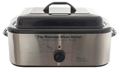 Nồi hấp đá nóng massage 18 lít dạng vuông bán tại Y khoa Kim Minh 0933455388