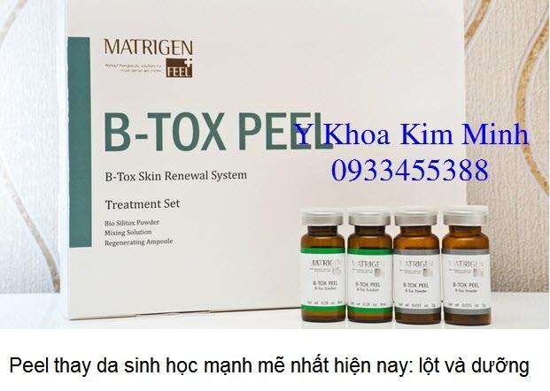 B-Tox Peel thay da sinh học Han Quoc nhap khau phan phoi ban gia si Y Khoa Kim Minh