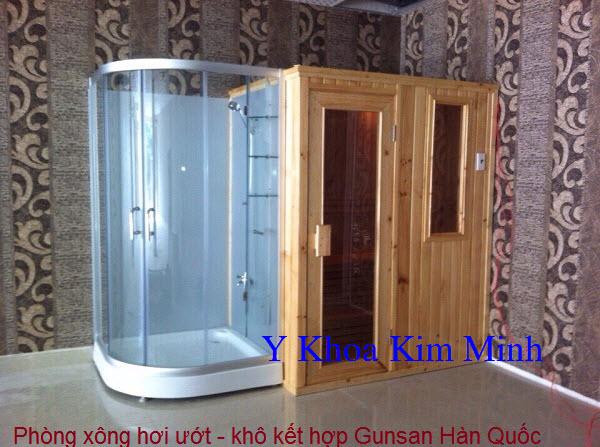 Cong ty lap rap phong xong hoi massage spa Y Khoa Kim Minh