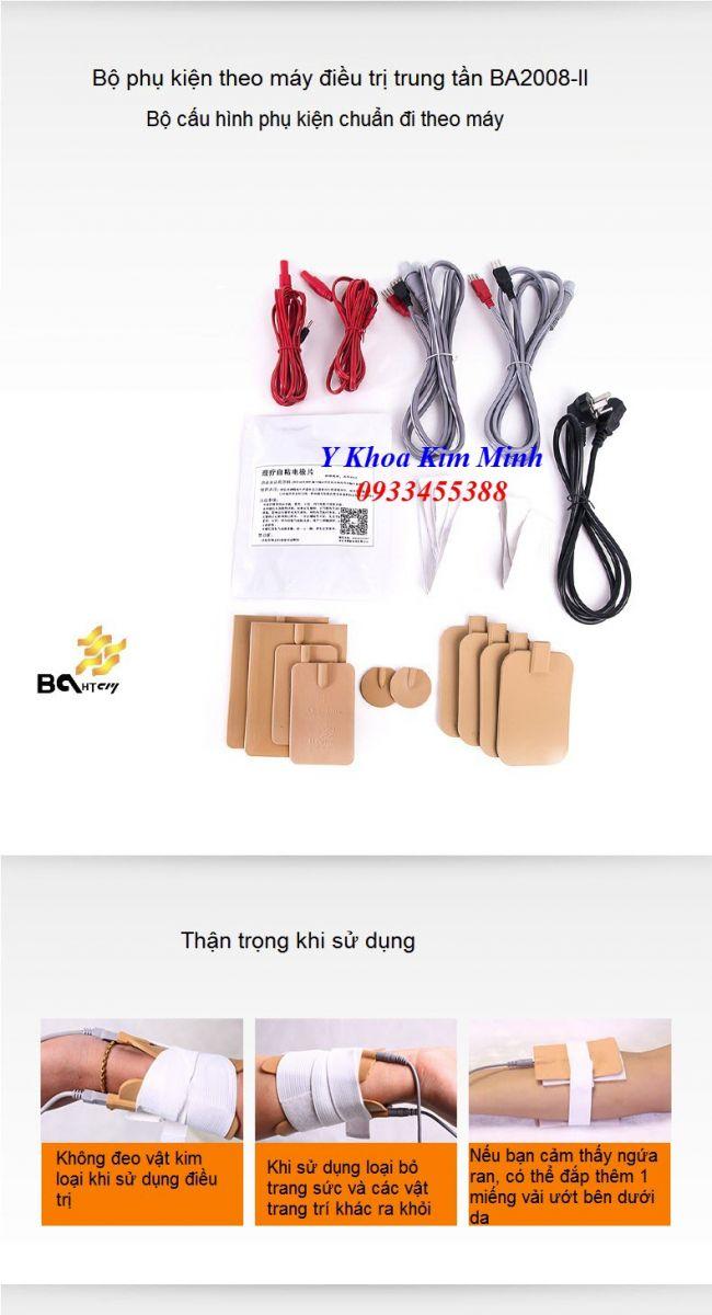 Phụ kiện máy trung tần BA2008-II bán tại Y Khoa Kim Minh Tp. Hồ Chí Minh 0933455388