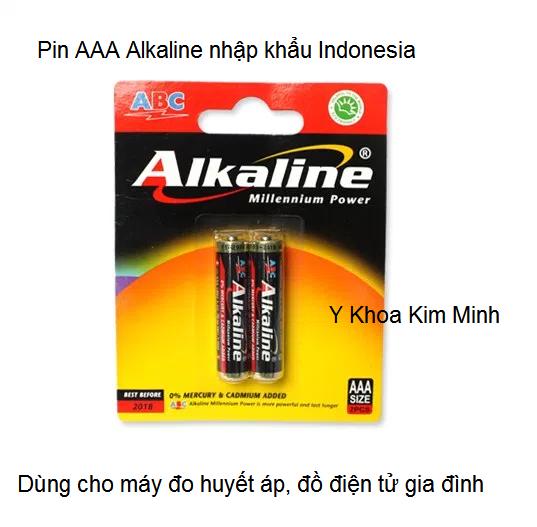 Pin 3A Alkaline dung cho may do huyet ap nhap khau Kim Minh ban tai tp hochiminh