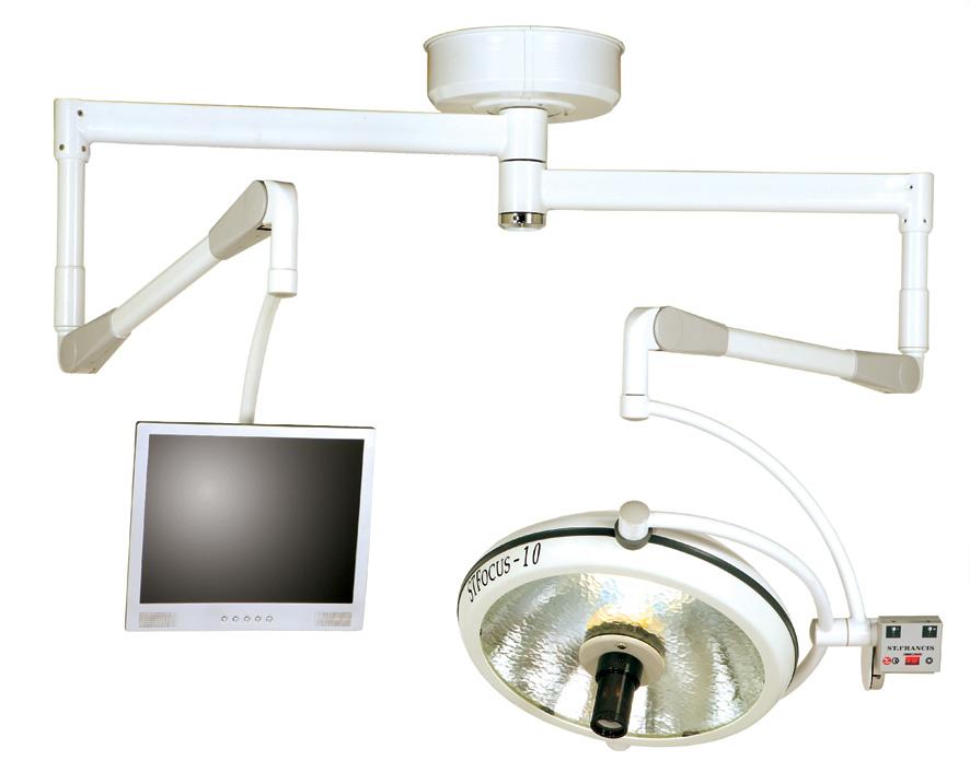 Đèn mổ y tế 2 nhánh Đài Loan ST-Focus-10SCM Y Khoa Kim Minh