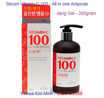 Serum vitamin C100 trắng sáng mịn da, giữ nét trẻ trung và nâng cấp da toàn diện - Y Khoa Kim Minh