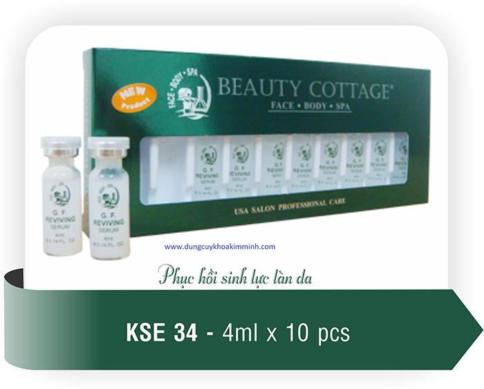 Serum dưỡng da điều trị tinh chất dùng máy điện di KW-49