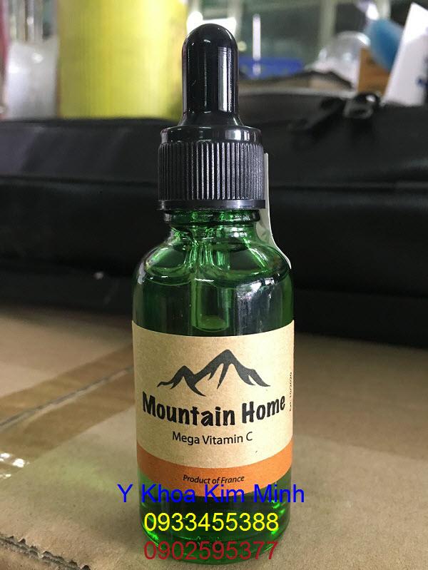 Serum Mega Vitamin C Pháp chuyên dùng lăn kim, cấy phấn nuôi da Y Khoa Kim Minh