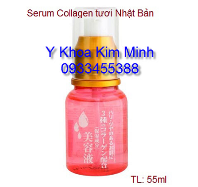 Serum Collagen Nhat xoa nhan nang co cang bong min da Y Khoa Kim Minh
