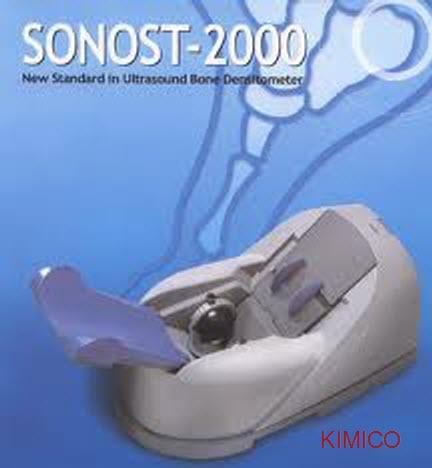 KIM MINH máy đo loãng xương Sonost 2000