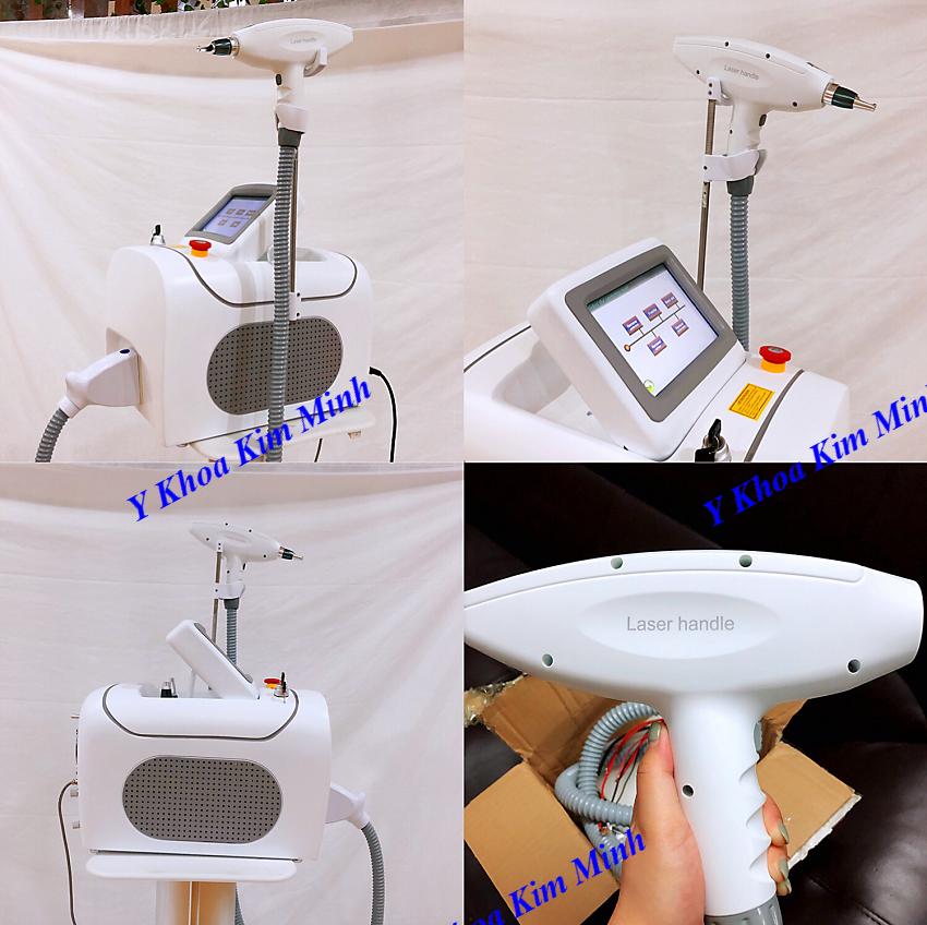 TSKT máy laser điều trị nám xóa xăm SKM-219 - Y Khoa Kim Minh 0933455388