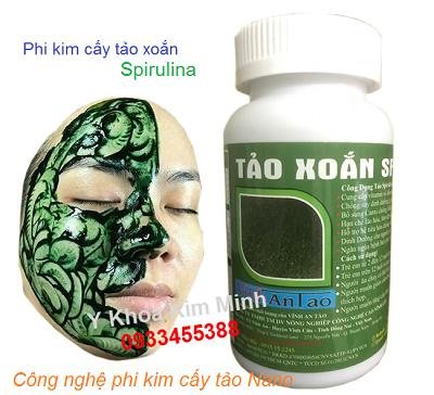 Tao xoan Spirulina Vinh An Lao dang com ban tai tp hochiminh - Y khoa Kim Minh 0933455388