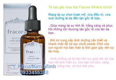 Te bao goc nhat Plcacenta Fracora su dung lam trang da sau khi peel Ronas - Y Khoa Kim Minh