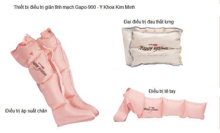 Thiết bị điều trị bệnh giãn tĩnh mạch Gapo-900 Y Khoa Kim Minh