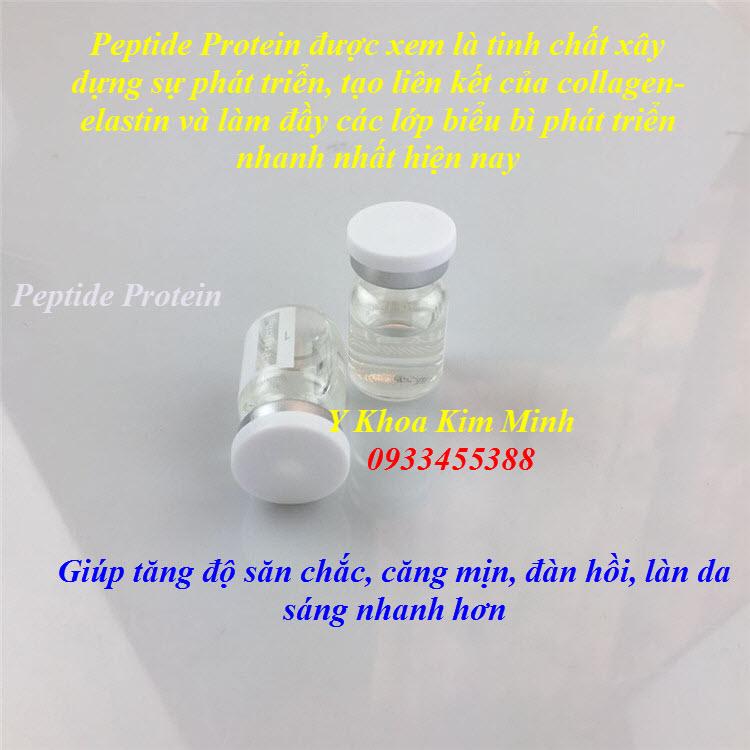Hydrodynamic Peptide Protein dùng tiêm căng bóng sáng mịn da siêu nhanh - Y Khoa Kim Minh 0933455388
