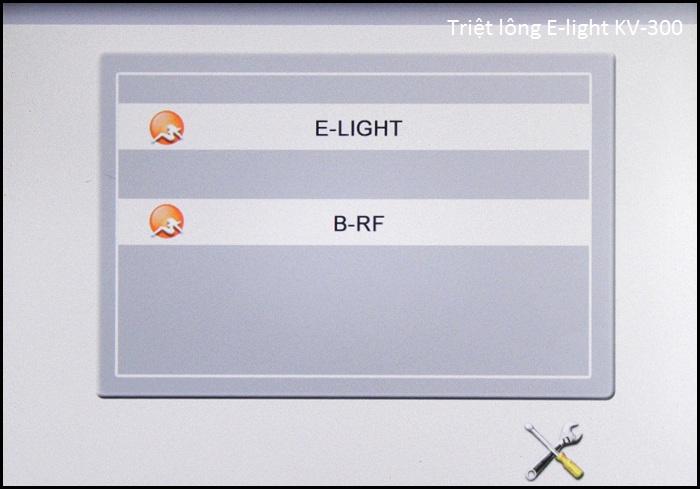 Máy triệt lông vĩnh viễn E-light đa năng KV-300 bán Y Khoa Kim Minh 11