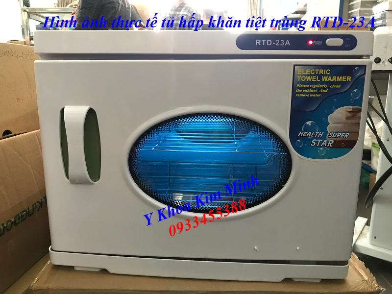 Tủ hấp tiệt trùng khăn RTD-23A nhập khẩu bán tại Y Khoa Kim Minh 0933455388