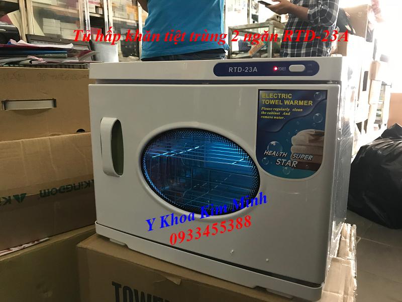 Tủ hấp khăn nhập khẩu 23 lít đời mới nhất RTD-23A - Y khoa Kim Minh 0933455388