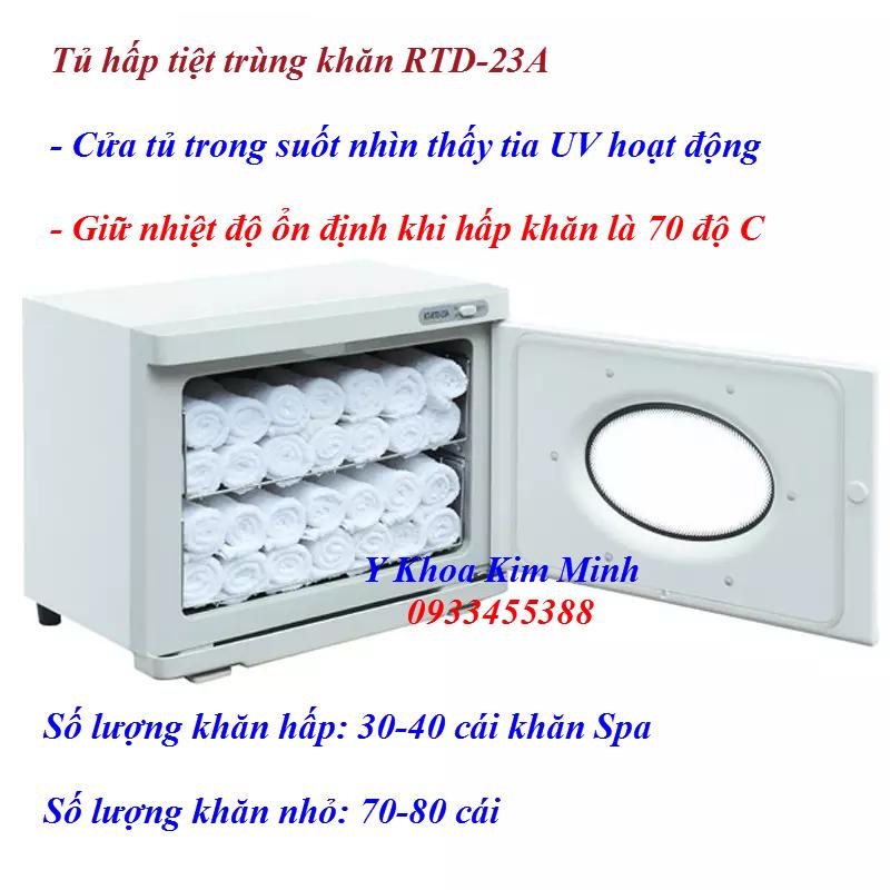 Tu hap tiet trung khan UV 23 lít RTD-23A bán tại Y khoa Kim Minh 0933455388