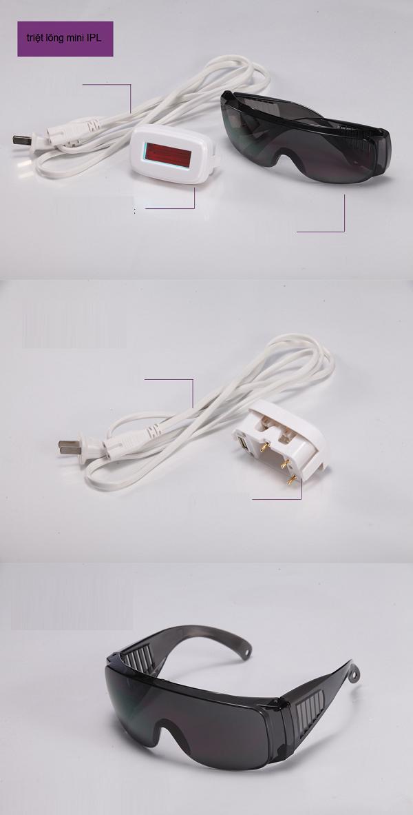 Bán linh kiện thay thế máy triệt lông IPL E light mini Y Khoa Kim Minh
