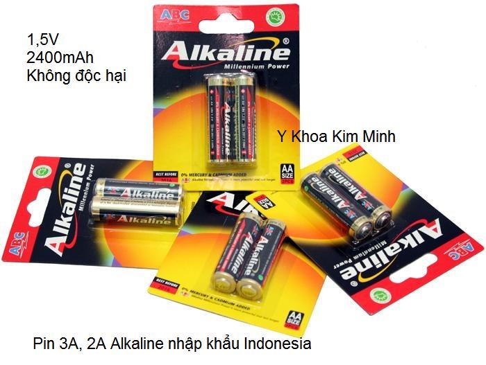 Ban pin tieu AAA dung cho may huyet ap dien tu omron microlife Kim Minh