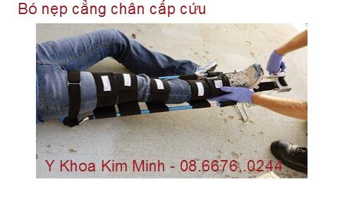 Băng nẹp cố định xương chân gãy NC-Y1