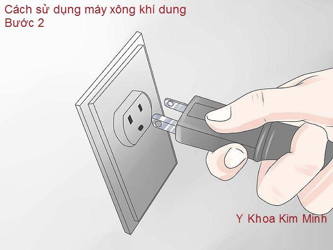 Cách điện vào ổ cắm gần nhất giúp máy vận hành dễ dàng