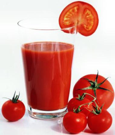 Công dụng của nước cà chua