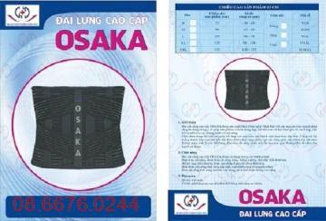 Đai cố định cột sống lưng Osaka