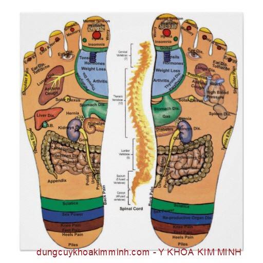 may massage xung dien tri lieu dan Flying 4 miếng Kim Minh