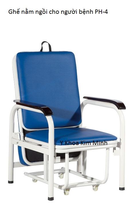 Ghế nằm ngồi bệnh viện y tế cho người bệnh PH-04