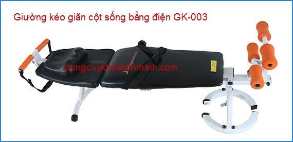 Giường kéo giãn cột sống bằng điện GK-003