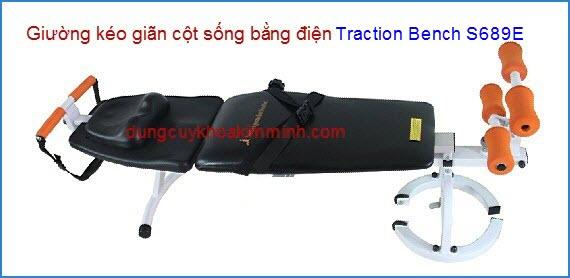 Giường điện kéo giãn cột sống Traction Bench S689E