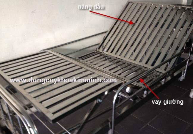 Giường y tế inox sản xuất tại Việt Nam
