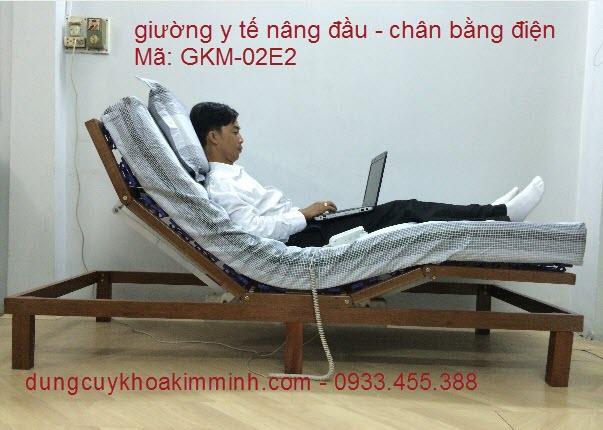 Giường điện y tế GKM-02E2