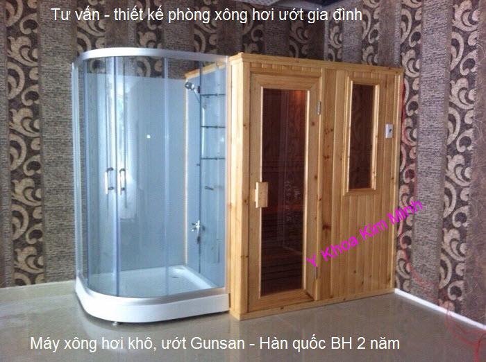 Cong ty thiet ke lap dat phong xong hoi uot massage Gunsan gia dinh Y Khoa Kim Minh