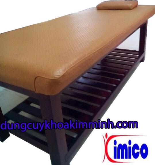 Giường gỗ massage Spa