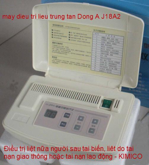 J18A2 máy điều trị liệu trung tần Đông Á Y Khoa kim minh