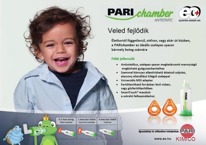 dụng cụ sử dụng trị hen suyễn Pari Chamber