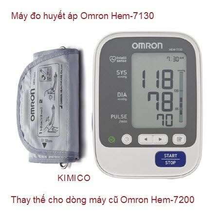 Máy đo huyết áp Omron Hem-7130