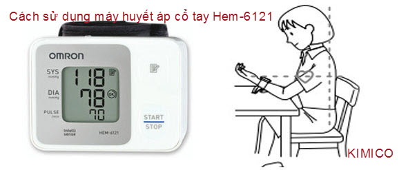 Cách sử dụng Omron Hem-6121 đúng cách