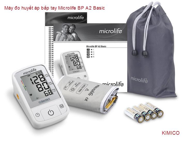 May đo huyết áp bắp tay BP A2 Basic Microlife