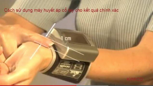 Máy huyết áp cổ tay Microlife BP 3UB1