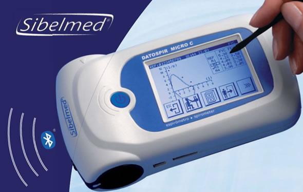 Máy thăm dò đo chức năng hô hấp phổi Sibelmed Y Khoa Kim Minh